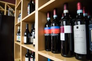 i vini dell' enoteca Vacchetta