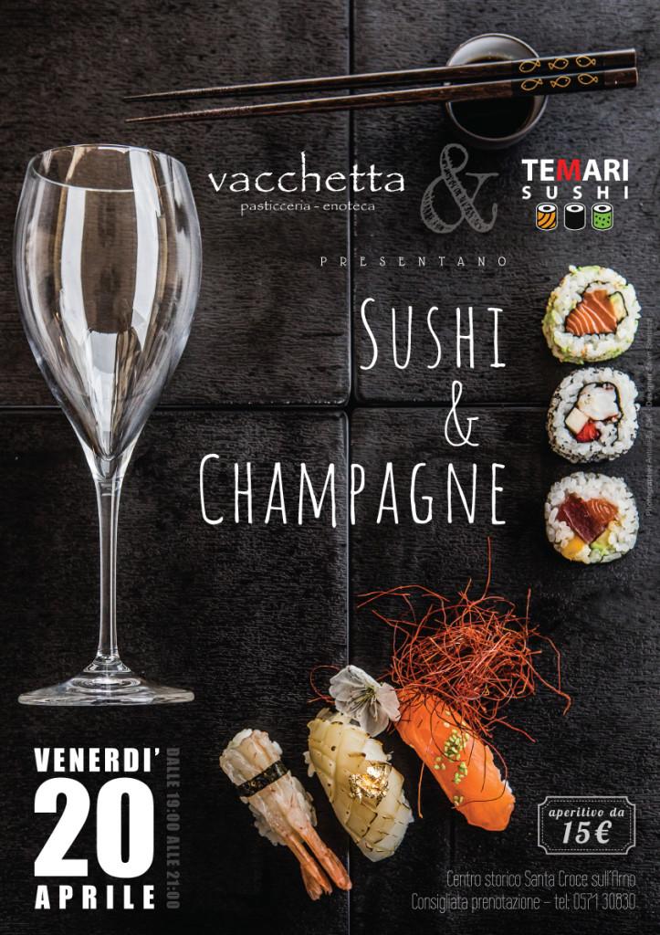 sushi&champagne