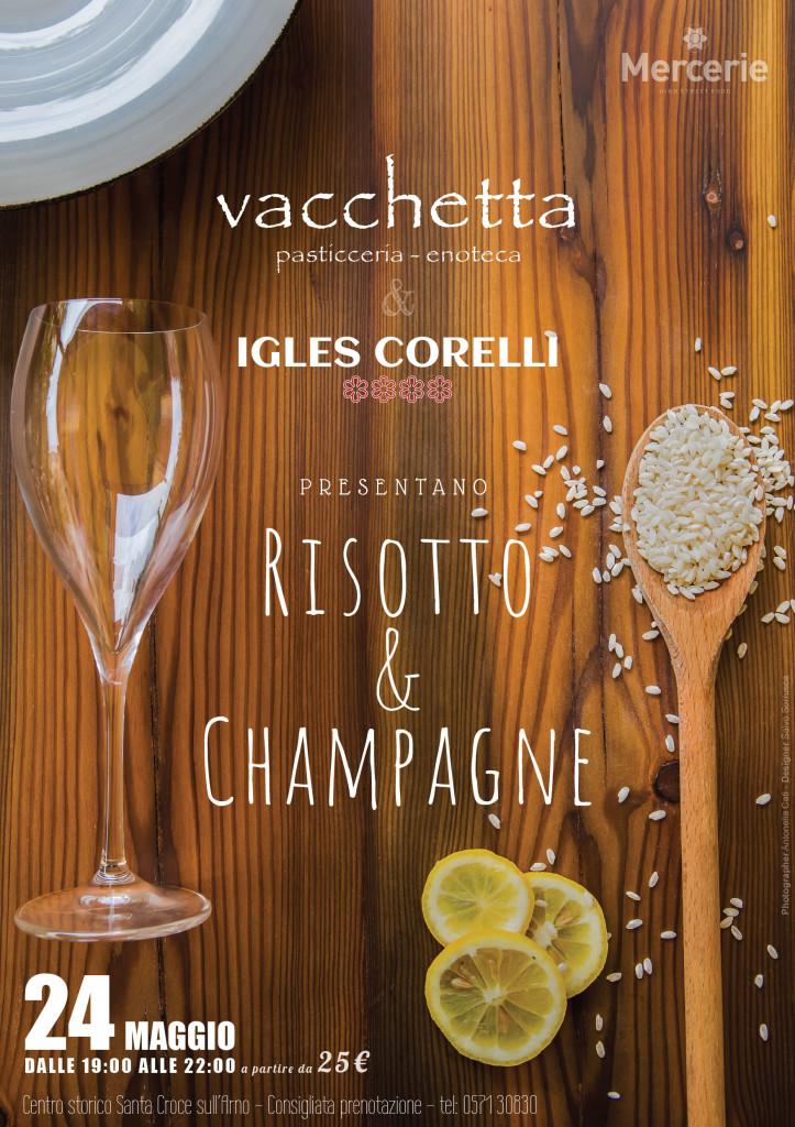 Aperitivo stellare con lo chef Igles Corelli